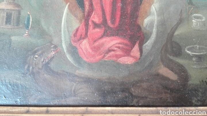 Arte: Virgen Inmaculada siglo XVII - Oleo Sobre Plancha de Cobre - - Foto 17 - 84957896