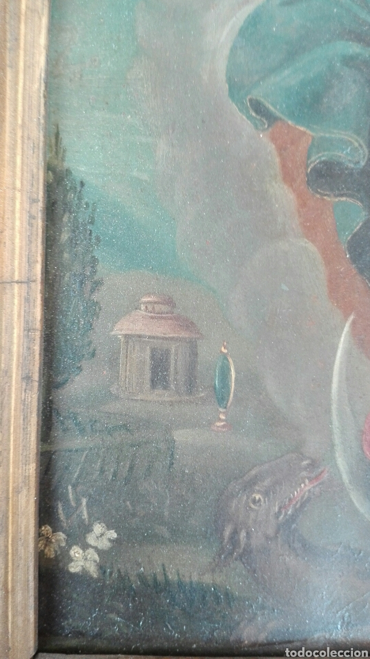 Arte: Virgen Inmaculada siglo XVII - Oleo Sobre Plancha de Cobre - - Foto 18 - 84957896