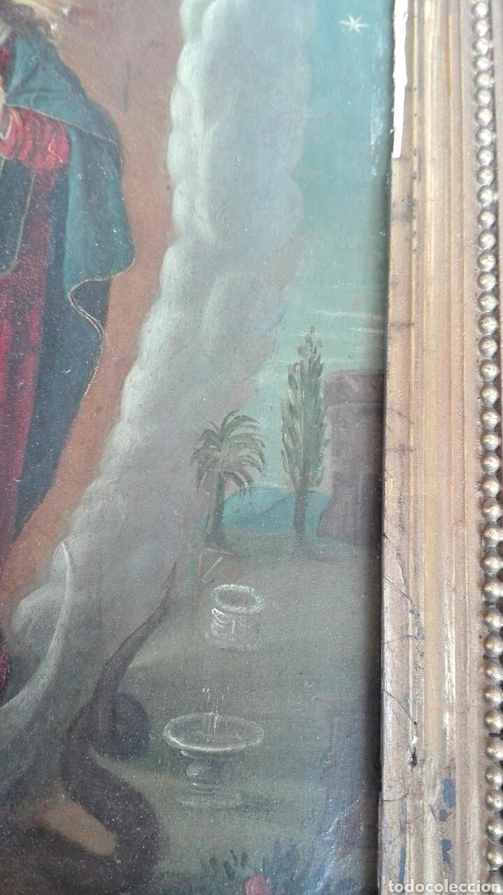Arte: Virgen Inmaculada siglo XVII - Oleo Sobre Plancha de Cobre - - Foto 19 - 84957896