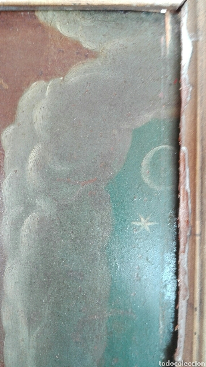 Arte: Virgen Inmaculada siglo XVII - Oleo Sobre Plancha de Cobre - - Foto 20 - 84957896