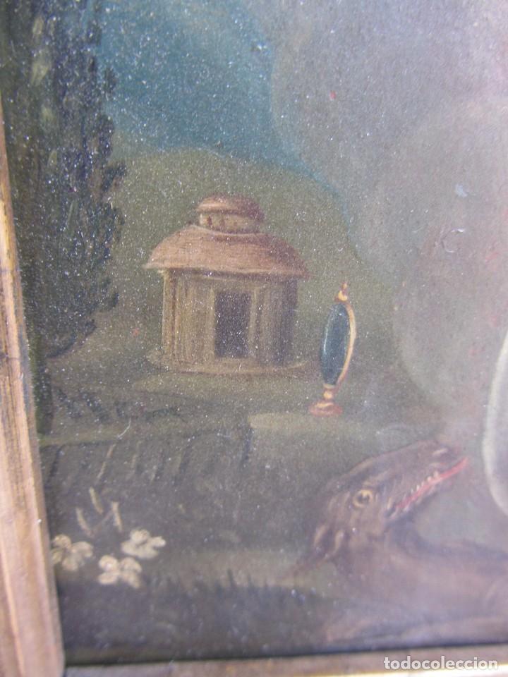Arte: Virgen Inmaculada siglo XVII - Oleo Sobre Plancha de Cobre - - Foto 9 - 84957896