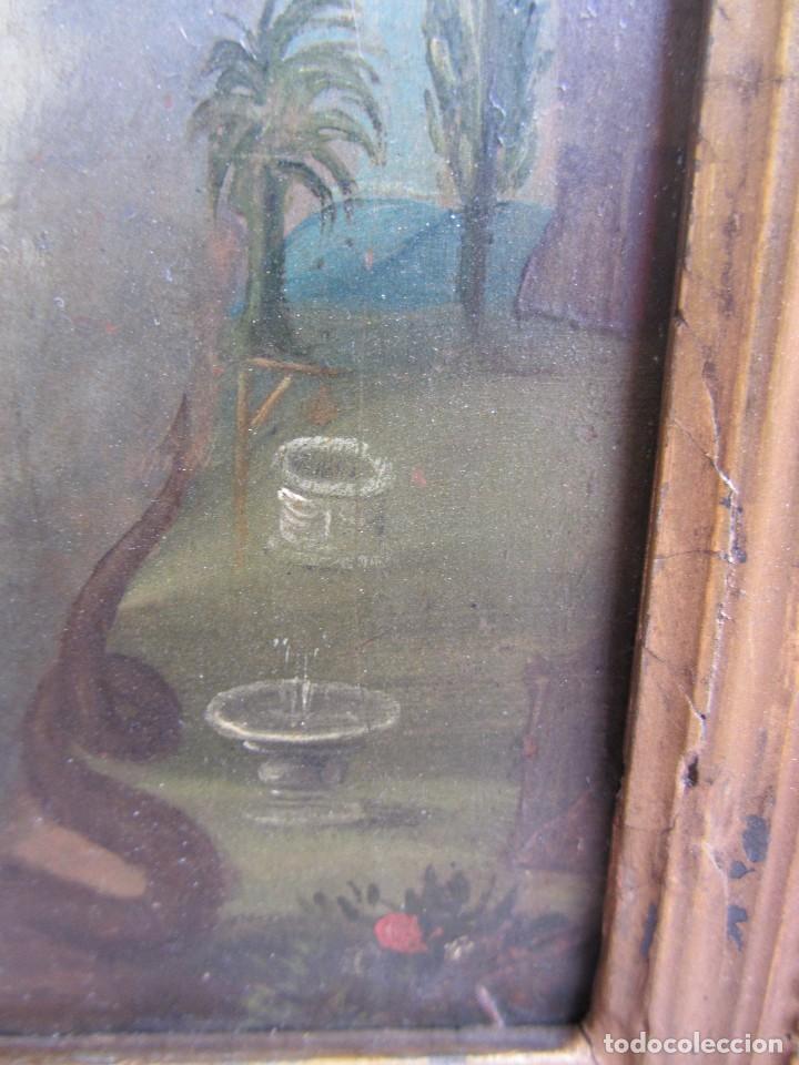 Arte: Virgen Inmaculada siglo XVII - Oleo Sobre Plancha de Cobre - - Foto 12 - 84957896