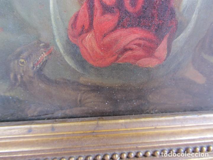 Arte: Virgen Inmaculada siglo XVII - Oleo Sobre Plancha de Cobre - - Foto 13 - 84957896