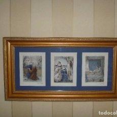 Arte: GRABADO ERÓTICO MONJA RELIGIÓN BECAT NUN NONNE ÚNICO TODOCOLECCIÓN TENTATIONS EROTIC RELIGION ART. Lote 85233592