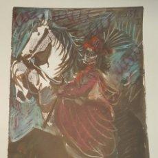 Arte: LITOGRAFIA DE PICASO (1 DE 28 DE LA COLECCION ALEMANA DE 1961 (TOROS Y TOREROS). Lote 85409596