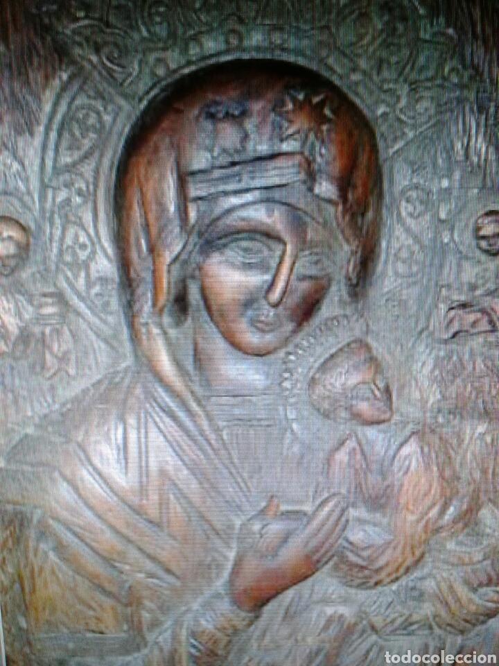 ANTIGUA MADERA TALLADA (Arte - Arte Religioso - Trípticos)