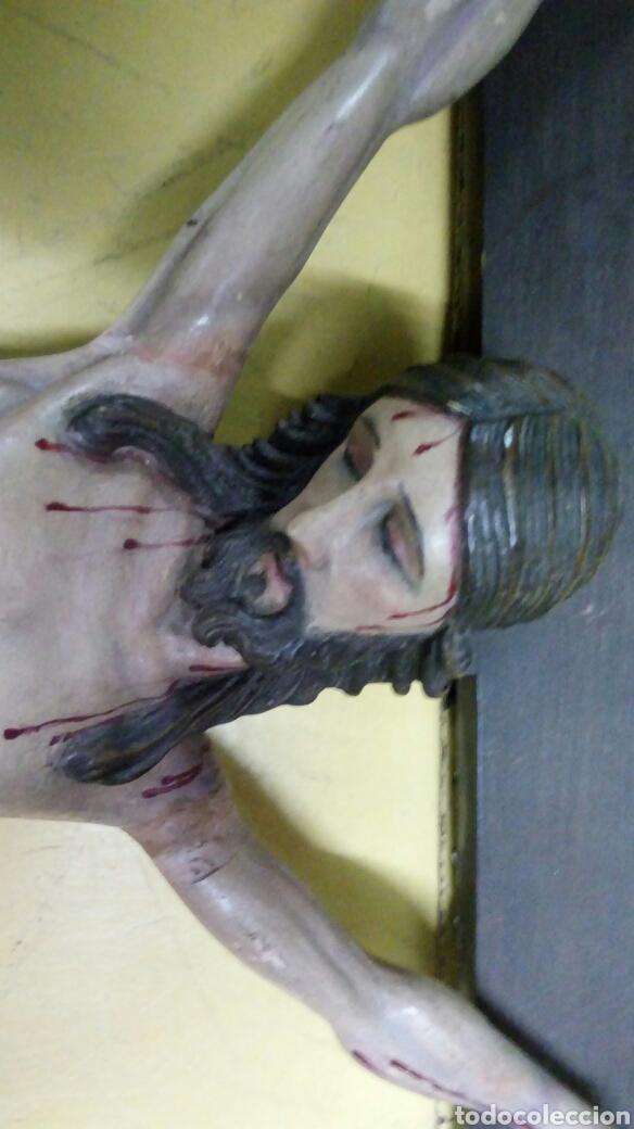 Arte: Cristo Madera Policromada.S XIX - Foto 2 - 86572003