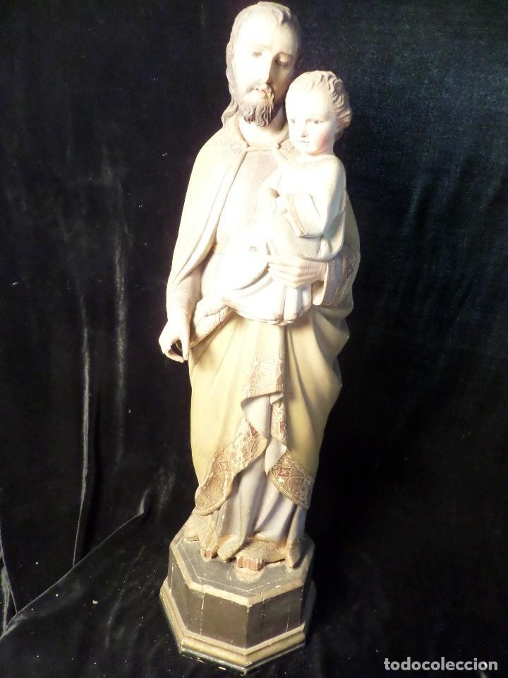 TALLA DE MADERA SIGLO XIX (Arte - Arte Religioso - Escultura)