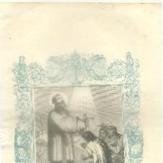 Arte: LITOGRAFIA RELIGIOSA: SAN FRANCISCO JAVIER. CONFESOR G-REL-245. Lote 86807840