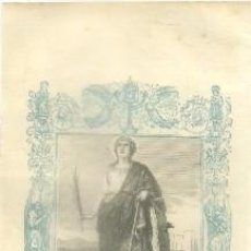 Arte: LITOGRAFIA RELIGIOSA: SANTA CATALINA, VIRGEN Y MARTIR G-REL-248. Lote 86808016