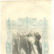Arte: LITOGRAFIA RELIGIOSA: SAN SATURNINO. OBISPO Y MARTIR G-REL-250. Lote 86808156