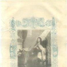 Arte: LITOGRAFIA RELIGIOSA: SANTA TERESA DE JESUS, VIRGEN Y FUNDADORA G-REL-260. Lote 86886991
