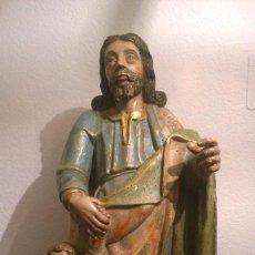 Arte: TALLA DE SAN JOSE CON EL NIÑO JESUS. Lote 86864904