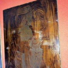 Arte: 9 PLANCHAS PARA GRABADO. ARTE RELIGIOSO CATALÁN. METAL. ESPAÑA. SIGLOS XIX-XX. Lote 87488616