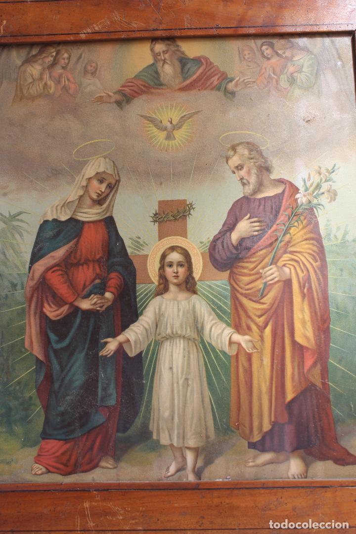 Arte: CROMOLITOGRAFIA RELIGIOSA ANTIGUA DEL SIGLO XIX - Foto 2 - 87650056