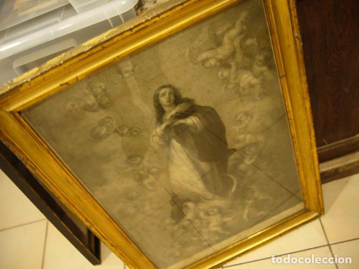 Arte: Antigua lámina de la Virgen Inmaculada - Foto 40 - 87655056