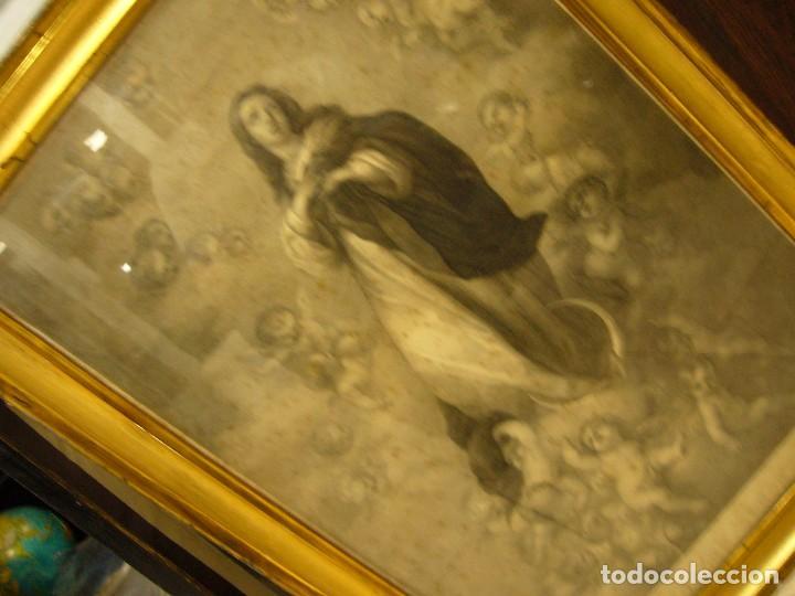 Arte: Antigua lámina de la Virgen Inmaculada - Foto 42 - 87655056