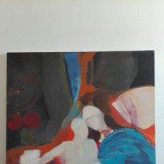 Arte: ÓLEO SOBRE LIENZO VIRGEN Y EL NIÑO. GRAN TAMAÑO. ENFOQUE CONTEMPORÁNEO. Lote 87785130