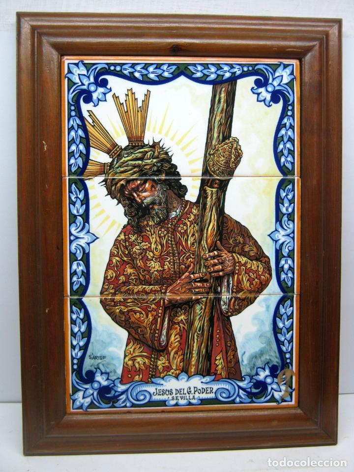 53 cm - retablo ceramico grande - jesus cristo - Comprar en ...