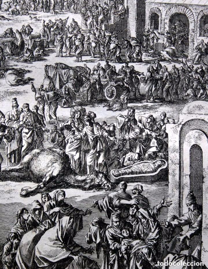 Arte: 1729 - BIBLIA - 10ª PLAGA DE EGIPTO - MUERTE PRIMOGENITOS - LUYKEN - ENGRAVING - GRAVURE - Foto 5 - 88096304