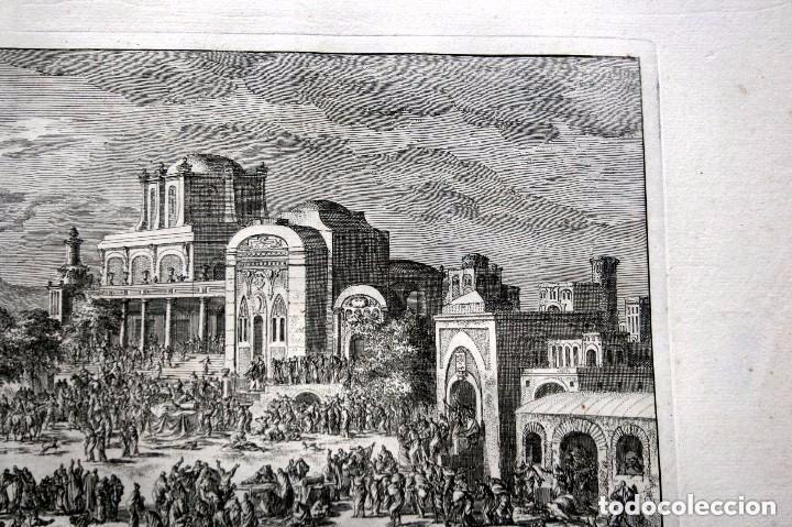 Arte: 1729 - BIBLIA - 10ª PLAGA DE EGIPTO - MUERTE PRIMOGENITOS - LUYKEN - ENGRAVING - GRAVURE - Foto 6 - 88096304