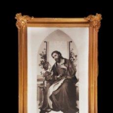 Arte: ANTIGUO GRABADO DE SAN JOSÉ, C. MUELLER, PRECIOSO.. Lote 89120664