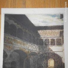 Arte: CLAUSTRO DE SAN JUAN, PORTA CAELI 51, UN HERMANO CARTUJO,. Lote 89765508