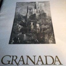 Arte: PRECIOSO LOTE EN UNA CARPETA CON 5 GRABADOS DE GRANADA. Lote 90087252