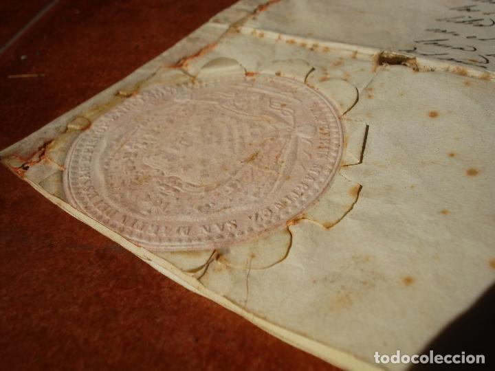 Arte: 1848 HISTORICA HORNACINA DE LA VIRGEN DE LOS CUATRO OBISPOS TALLA DE MADERA - Foto 21 - 90373340