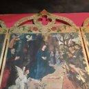 Arte: GRAN TRIPTICOS RELIGIOSOS EN MADERA PANELADO AL ORO. Lote 90620997