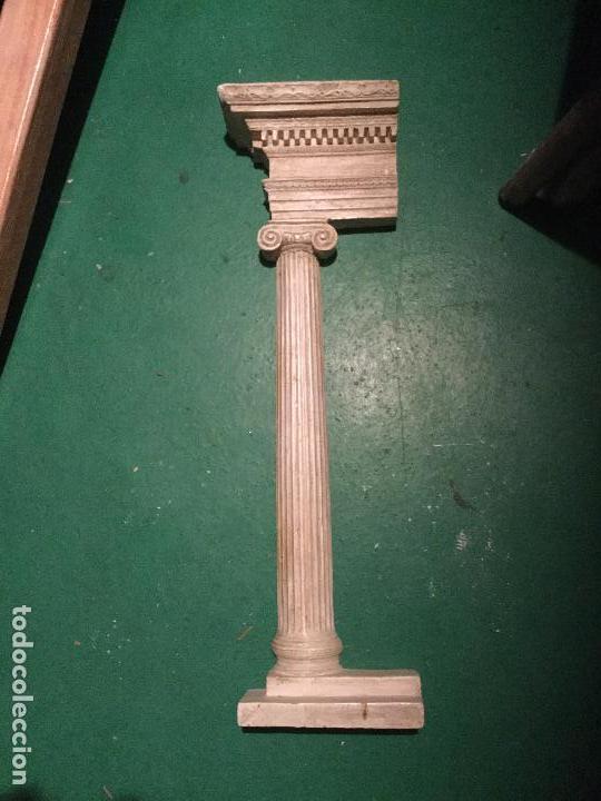 Arte: Columna dórica. Yeso. Siglo XIX. - Foto 3 - 90755000