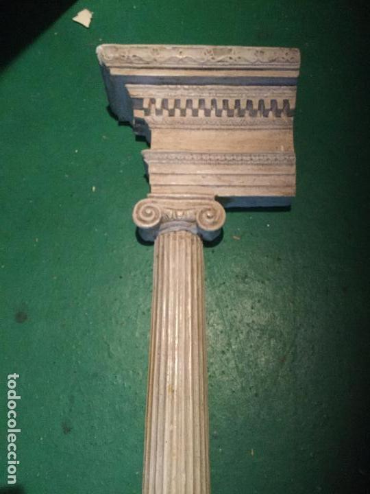 Arte: Columna dórica. Yeso. Siglo XIX. - Foto 5 - 90755000