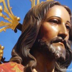 Arte: INSTITUTO CRISTIANO DE ARTES DECORATIVAS DOMINGO PERIS ESCULTOR GRANDES MEDIDAS 1M78CM. Lote 90790940