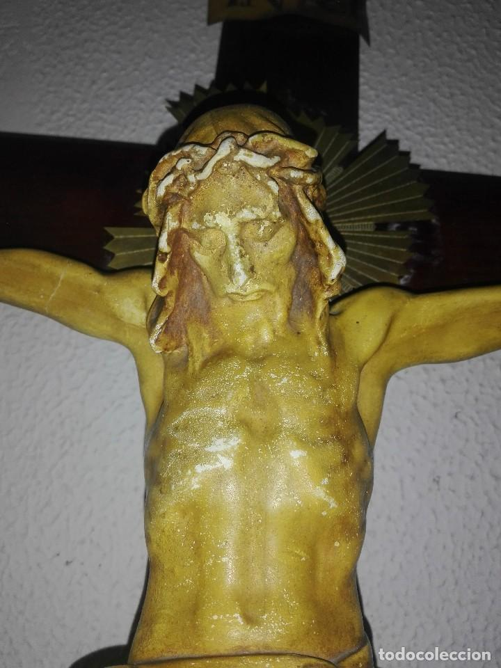 Arte: antiguo jesus cristo crucificado cristo gran tamaño ver fotos - Foto 10 - 172160257