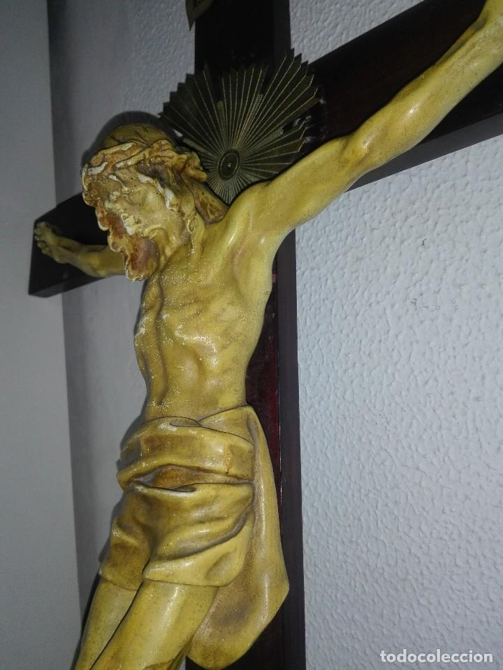 Arte: antiguo jesus cristo crucificado cristo gran tamaño ver fotos - Foto 17 - 172160257