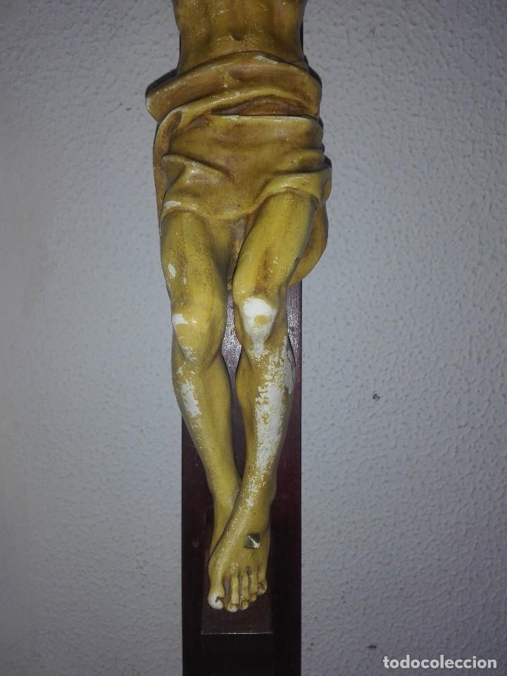 Arte: antiguo jesus cristo crucificado cristo gran tamaño ver fotos - Foto 19 - 172160257