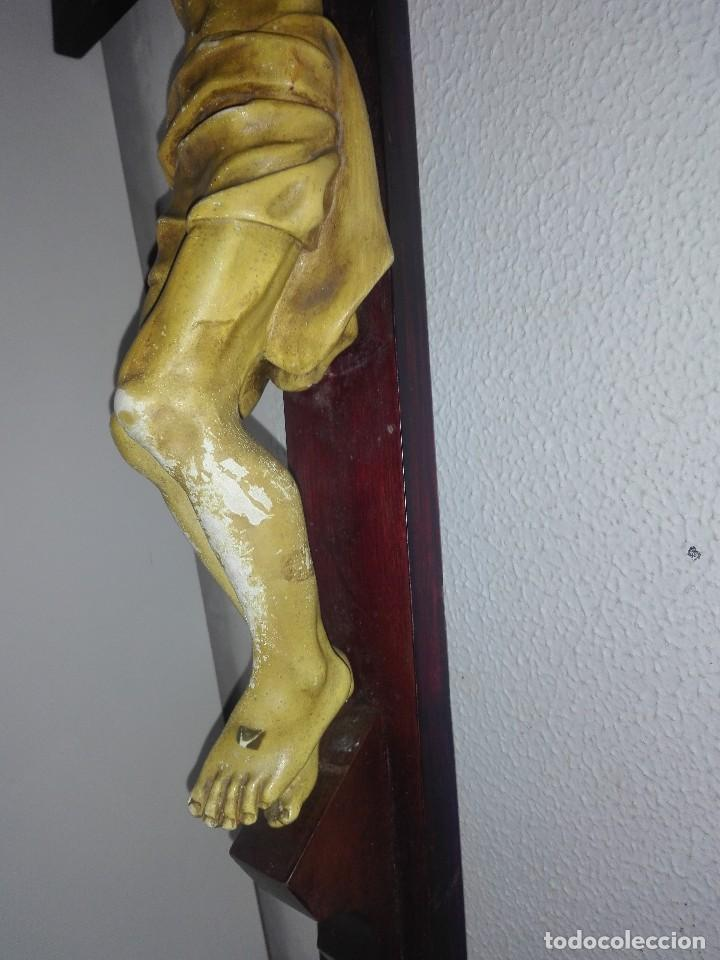 Arte: antiguo jesus cristo crucificado cristo gran tamaño ver fotos - Foto 20 - 172160257