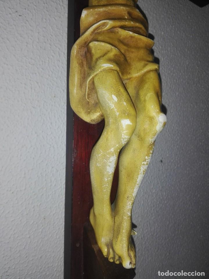 Arte: antiguo jesus cristo crucificado cristo gran tamaño ver fotos - Foto 21 - 172160257