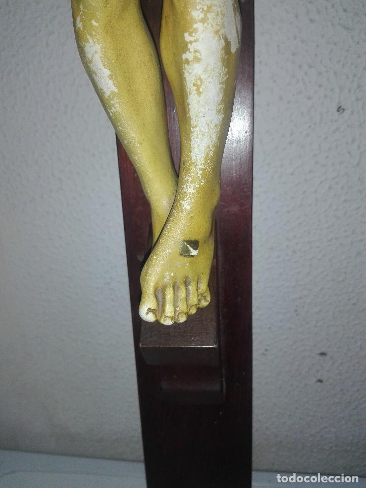Arte: antiguo jesus cristo crucificado cristo gran tamaño ver fotos - Foto 22 - 172160257