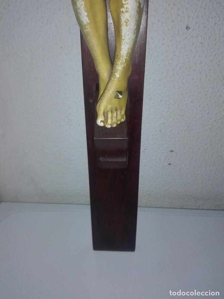 Arte: antiguo jesus cristo crucificado cristo gran tamaño ver fotos - Foto 23 - 172160257