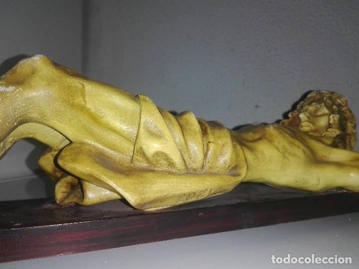 Arte: antiguo jesus cristo crucificado cristo gran tamaño ver fotos - Foto 26 - 172160257