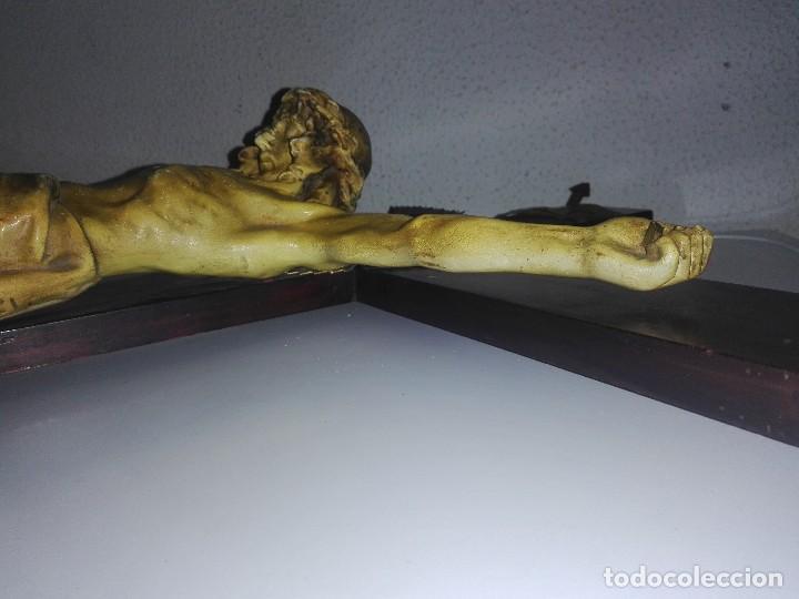 Arte: antiguo jesus cristo crucificado cristo gran tamaño ver fotos - Foto 27 - 172160257