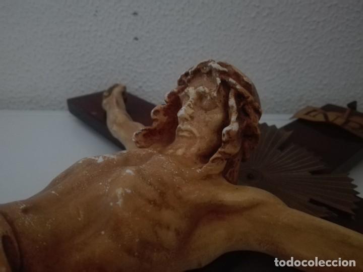 Arte: antiguo jesus cristo crucificado cristo gran tamaño ver fotos - Foto 28 - 172160257