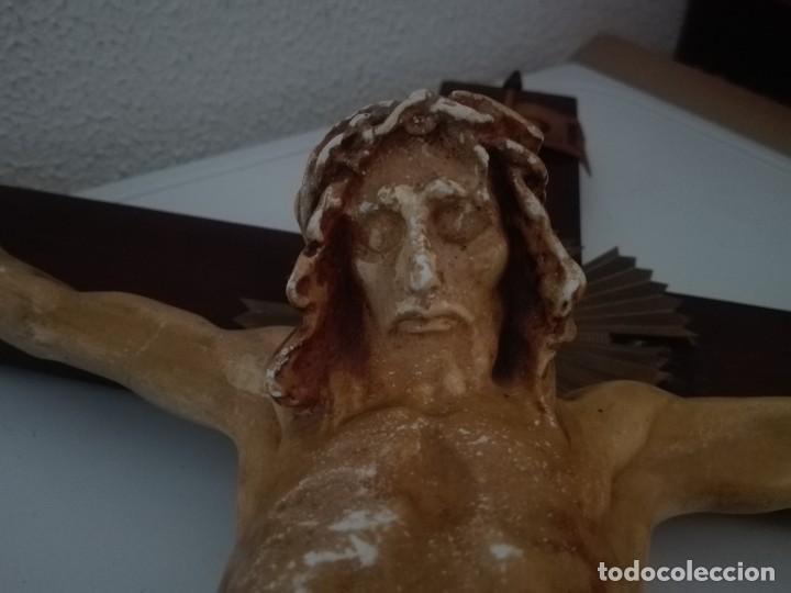 Arte: antiguo jesus cristo crucificado cristo gran tamaño ver fotos - Foto 29 - 172160257