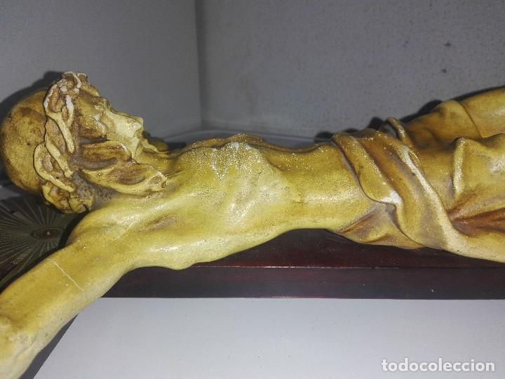 Arte: antiguo jesus cristo crucificado cristo gran tamaño ver fotos - Foto 33 - 172160257