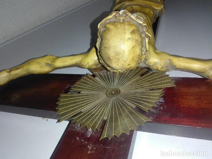 Arte: antiguo jesus cristo crucificado cristo gran tamaño ver fotos - Foto 35 - 172160257