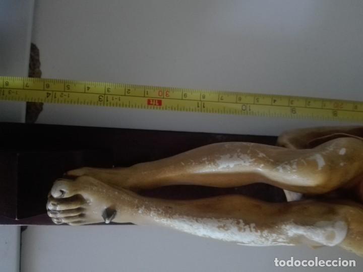 Arte: antiguo jesus cristo crucificado cristo gran tamaño ver fotos - Foto 47 - 172160257