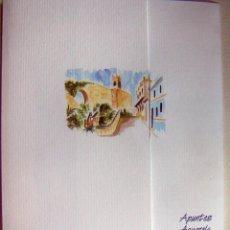 Arte: CARPETA CON 4 LITOGRAFIAS REPRODUCCIONES EN ACUARELA DE CALPE FIRMADAS POR RAMÓN TOMÁS. Lote 91729000