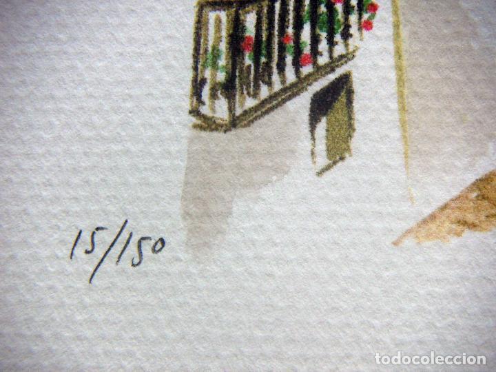 Arte: Carpeta con 4 litografias reproducciones en acuarela de Altea firmadas por Ramón Tomás - Foto 8 - 91729210