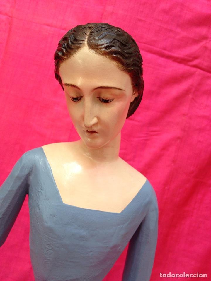 Arte: Virgen de vestir siglo XIX - Foto 3 - 91814495